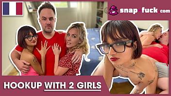 Mya Lorenn &amp_ Candy Scott: two cock-loving babes enjoy one boner! Snap-fuck.com