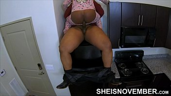 Black Step Daughter Riding Step Dad Cock On Top Of Refrigerator, While Mom Gone. Daddy Girl Msnovember Young Blonde Ebony Pussy Cowgirl In Kitchen, Rough Hardcore Fauxcest Sex On Sheisnovember
