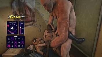 Monster boobs gangbang...