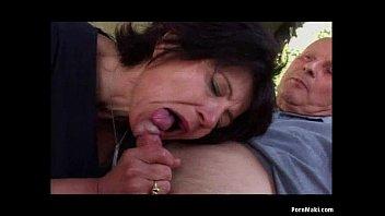 xxarxx Granny Outdoor Anal Sex