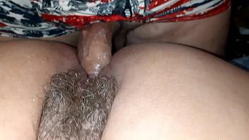 Milf esposa coroa deliciosa com buceta peluda