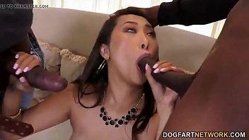Busty asian sharon lee fucks her cuckold husband...