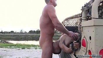 Gay men spread their butt cheeks