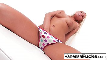 Sexy Teen Vanessa Plays With Her Tight Wet Pussy