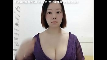 Nerdy Asian PAAG Shows Off Massive Tits and Big Butt