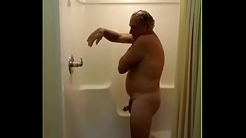 Jim Masturbating Before Showering