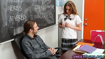 xxarxx Uniformed teen facial