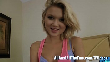 Blonde Teen Dakota Skye Gets Ass Spread and Worshiped on AllAnal