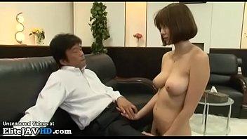 XVIDEO Japanese busty secretary approved by pervert boss