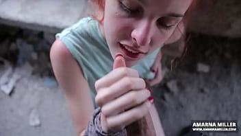 thumb Amarna Miller Blowjob At The Abandoned House