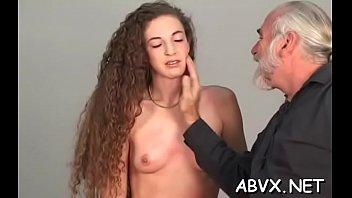 Charming hottie getting ready to masturbate