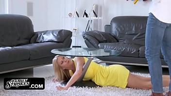 Big tit milf horny for step-son  famsuck.com