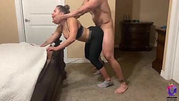 Perverted Yoga instructor fucks his goodness student