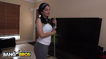 Bangbros - Jmac Goes To Town On Busty Latin Maid Nadia Ali