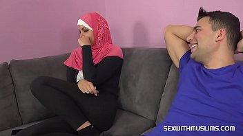 A horny guy fucks his Muslim sister-in-law