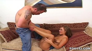 Girl gets finger and cock in her ass