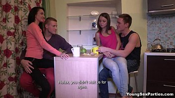 Young Sex Parties - Perfect Gangbang With Swinger Foxy Di Greta A Teen-Porn