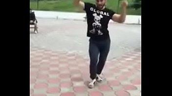 Russian dagestan arab guy is dancing amazing arabian...