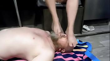 Worshipping Soft Mature MILF Feet