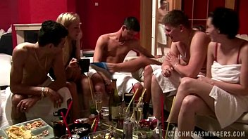 Home party Turns into Biggest Swingers in their life groupsex czechav