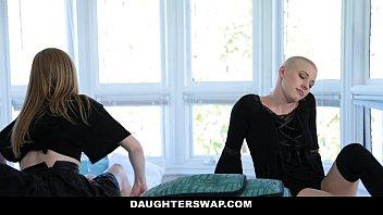 thumb Daughterswap Gothic Sluts Fucked By Bffs Dad