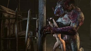 Sex monster for true ugly bdsm fans...