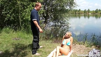 thumb Busty Teen Babe Gets Pounded Outdoors