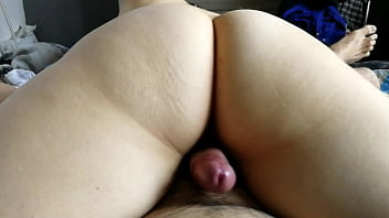 Tales begs me to use my dick for rub her pussy as a present for her birthday
