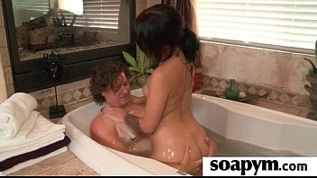 Erotic soapy massage with Happy Ending 24
