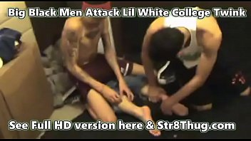 Str8 8thug white twink named evil red attacked...