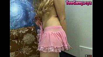 blonde girl masturbating on camera teecams.xyz