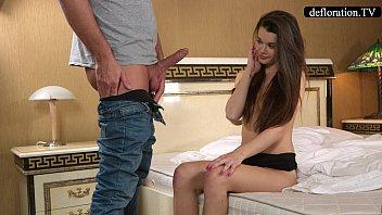 Defloration - a professional takes Mirella'_s virginity