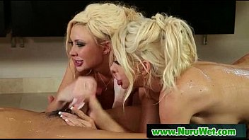 Nuru Massage And Very Happy Ending In the Shower 22
