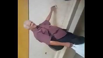 Urinal grandpa  hot