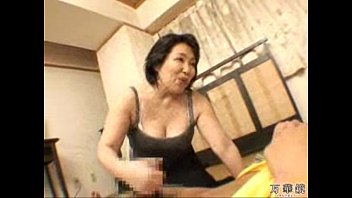 Mature asian handjob porn