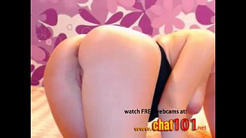 Anal Cams  Blonde Sophie thoroughly sweeped her ass with finger  More at
