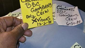 Cincinnati Bbc  Gangbang Crew On  n
