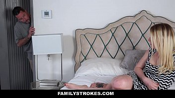 Familystrokes - Learning About Sex (Sophie Sativa) From Step-Dad