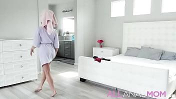 Attention featuring - Christiana Cinn - FULL SCENE on http://ALLAnalMOM.com