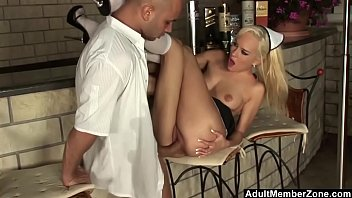 xxarxx French Maid Has To Clean Up Her Mess