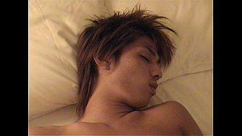 while Gay sleep man fondling
