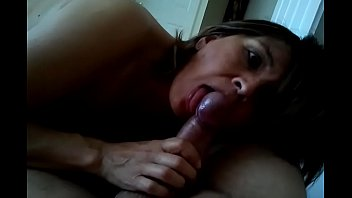 Flowers Giving a Home Blowjob 7 latina blowjob