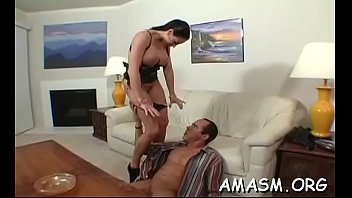 Superb home porn with busty woman facsitting while wanking penis fetish best-free-porn-site