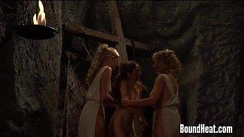 Lesbian Orgy In  Baths With Busty Mistress Org ty Mistress Orgasming Hard