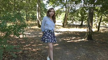 real teen does her first casting