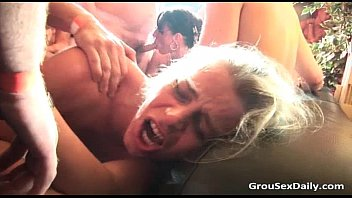 Amateur sluts g etting destroyed by some d by some