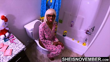 Please No! I'_m Peeing Step Dad! Don'_t Have Sex With Me Right Now :-( Urinating StepDaughter Msnovember BlackPussy Brutally Fucked &amp_ Extreme Creampie On Sheisnovember
