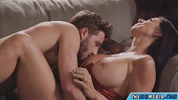 Busty mom seduces guy...