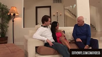 Big White Dick Fills Asian Wife Gaia With Hot Seed As Cuckold Hubby Watches