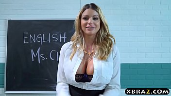 thumb Busty Milf Teacher Gets With Teen Couple In Her Classroom